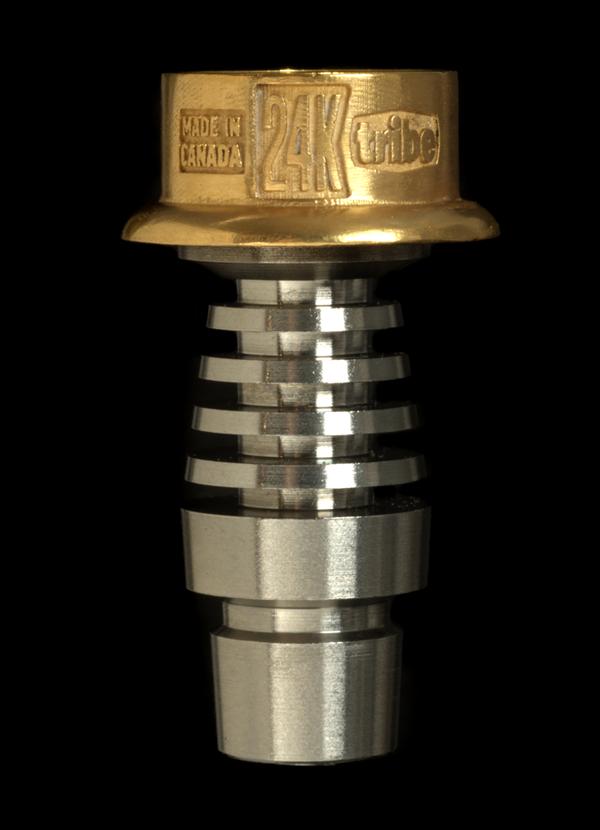 tribe emperor 24K gold dabbing nail