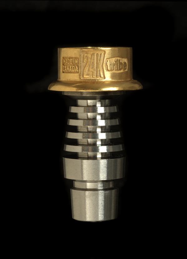tribe 24k gold emperor dabbing nail