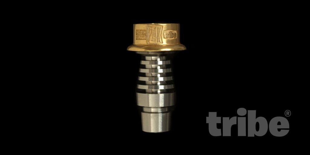 tribe 24K gold dabbing nail
