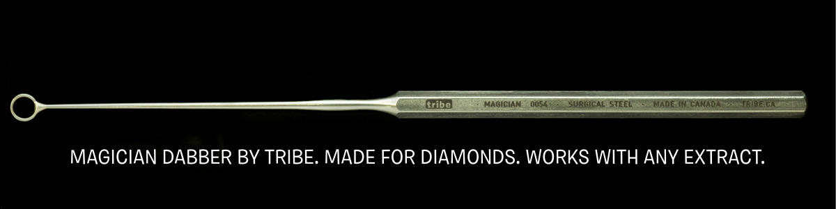 MAGICIAN dabber by tribe made for diamonds