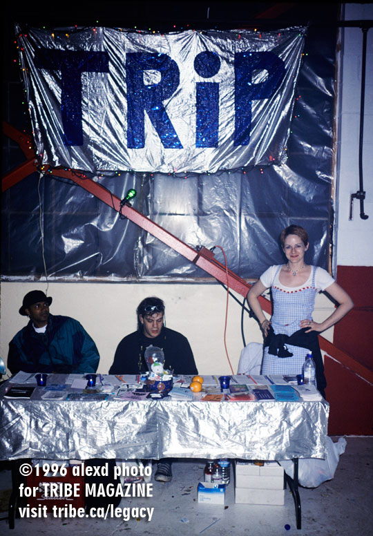 TRIP booth Better Days Toronto 1996