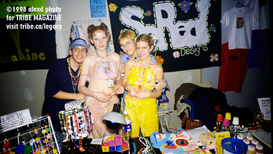retail rave booth toronto 1998