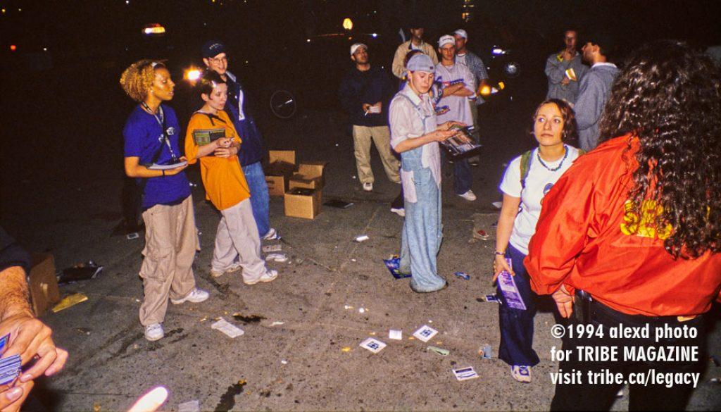 getting flyered 1994 toronto