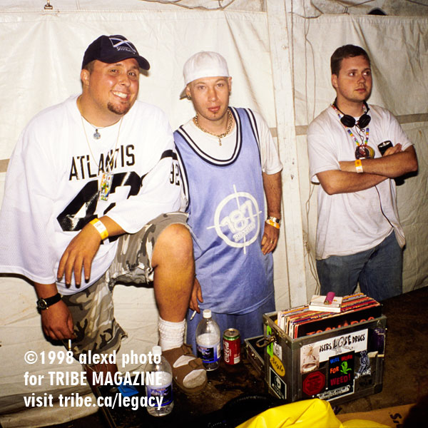Hardcore Tent DJs WEMF 1998