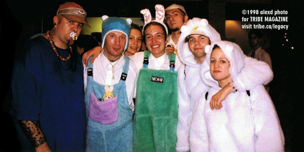 Fun Fur Ravers Ontario Science Center 1998