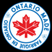 MADE IN ONTARIO CANADA