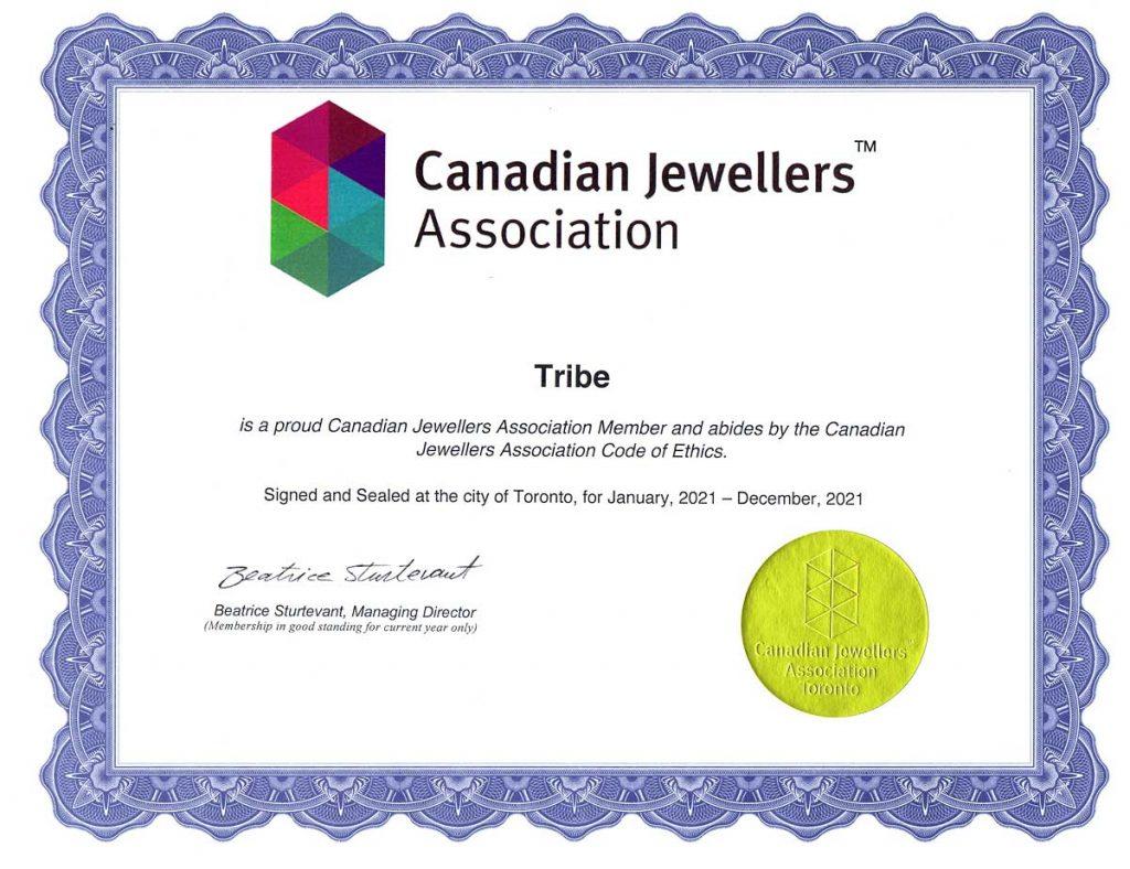 Canadian Jewelers Association Membership TRIBE